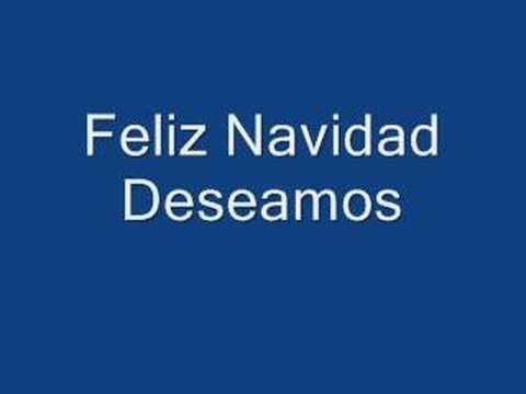 feliz navidad deseamos