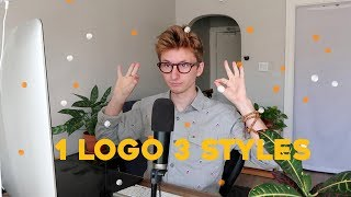 How to Design 1 Logo In 3 Unique Styles