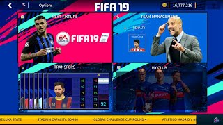 DLS 19 MOD FUT FIFA 19 Edition Android Offline 350MB Best Graphics