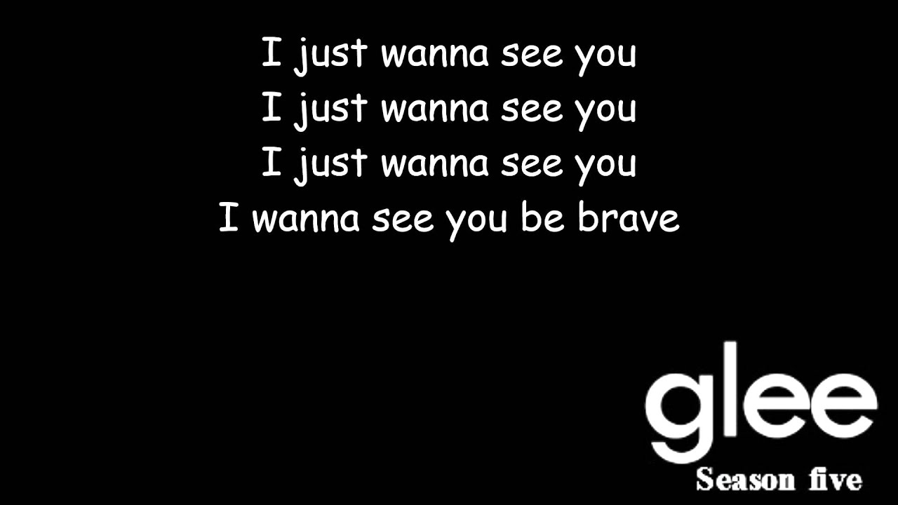 Brave | Glee [HD FULL STUDIO] - YouTube