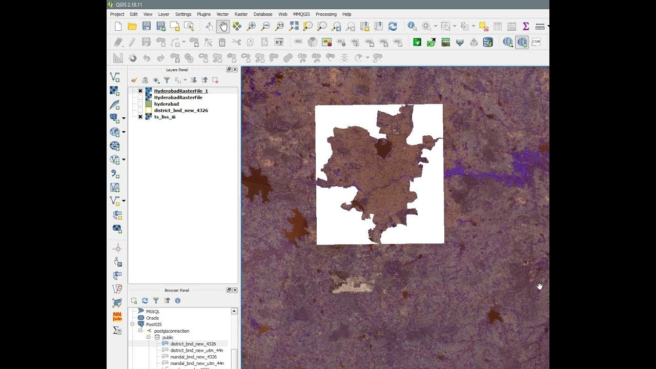 QGIS - Clipper - Clip Raster with shapefile boundary