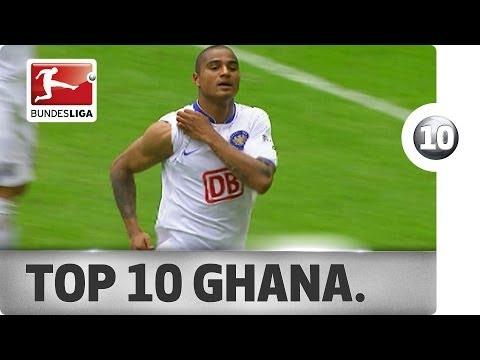 Top 10 Goals - Ghana
