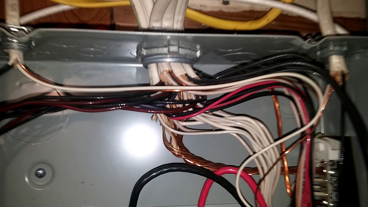 Sub Panel Neutrals And Grounds Are Together On One Bus Bar Youtube Wiring A Subpanel To