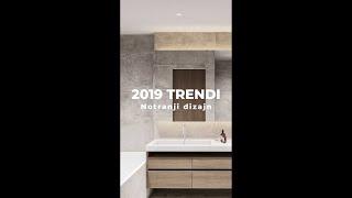 Trendi opremljanja prostora - 2019