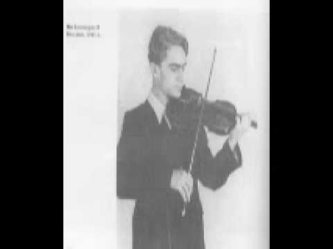 P. Sarasate - Zigeunerweisen played by Vasco Abadjiev