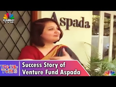 YOUNG TURKS | Success Story of Venture Fund Aspada | CNBC TV18