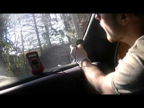 Fixing a Rear Window Defroster [Diagnosis and Repair] Part 1