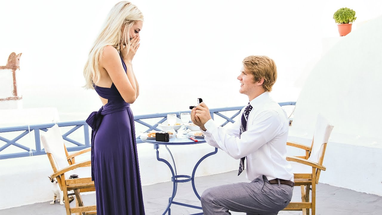 Aspyn And Parker The Engagement Youtube