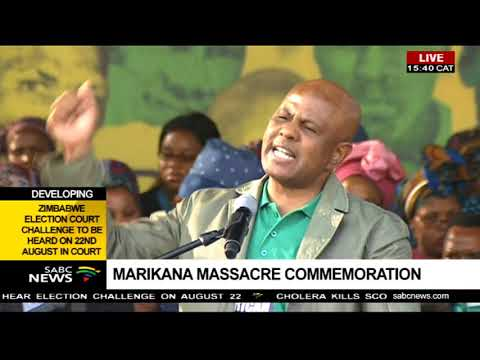Joseph Mathunjwa's 6th Marikana massacre commemoration address