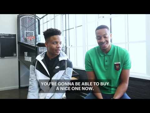 CJ McCollum's Interview with Markelle Fultz