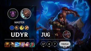 Udyr Jungle vs Shaco - EUW Master Patch 11.13