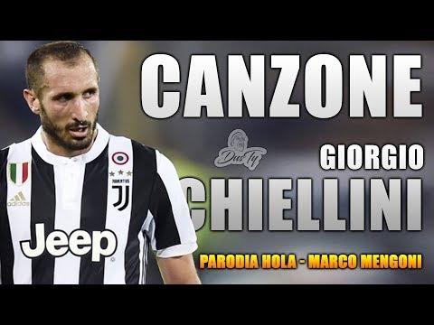 CANZONE GIORGIO CHIELLINI ⚽ [ Parodia Marco Mengoni - Hola (I Say) ft. Tom Walker ]