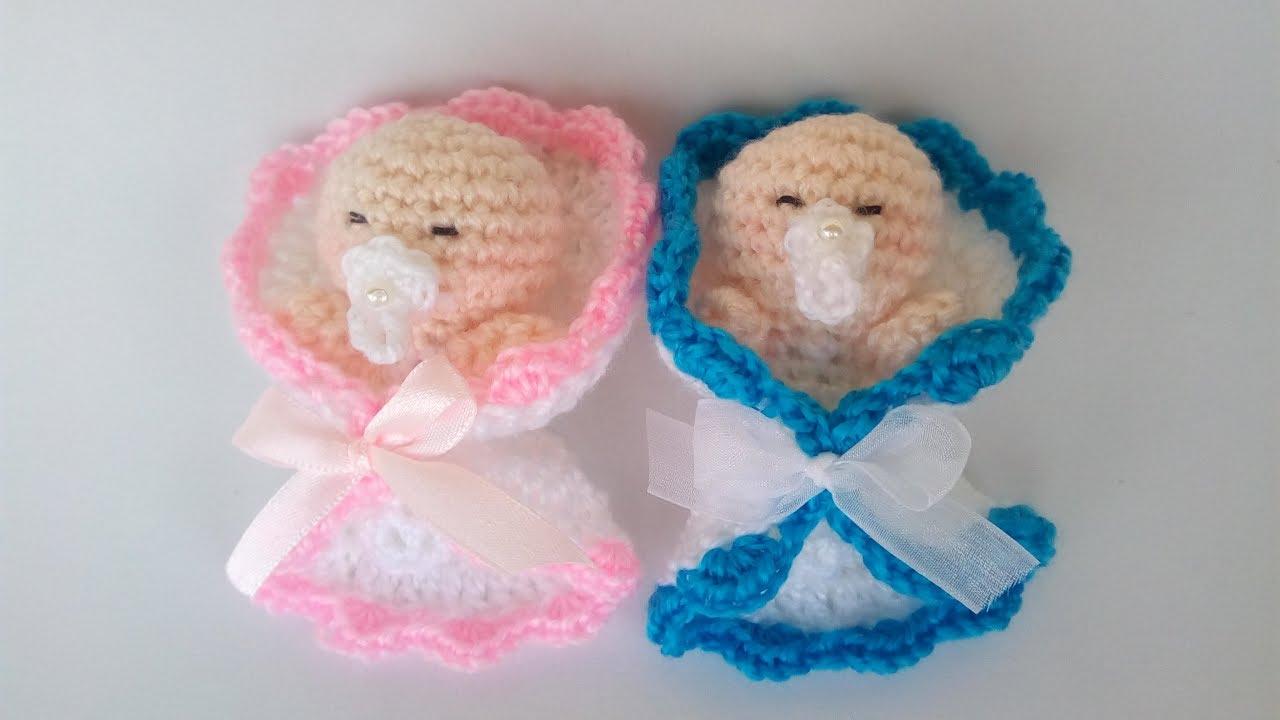 Bebè Amigurumi Bomboniera Tutorial Uncinetto Muñeca Crochet Doll
