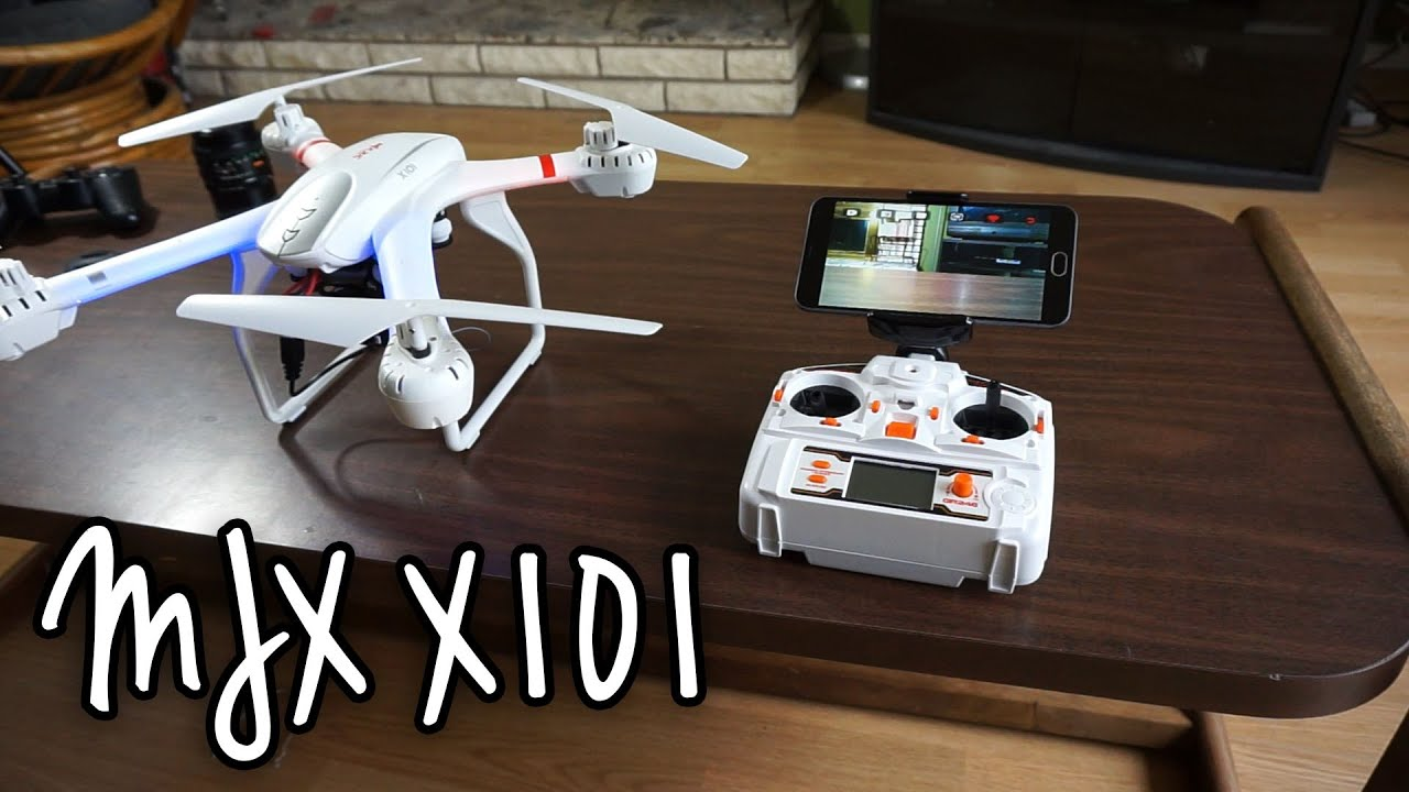 MJX X101 Quadcopter WiFi FPV On Android Phone