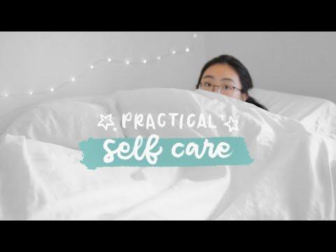 practical *non-instagram* self care