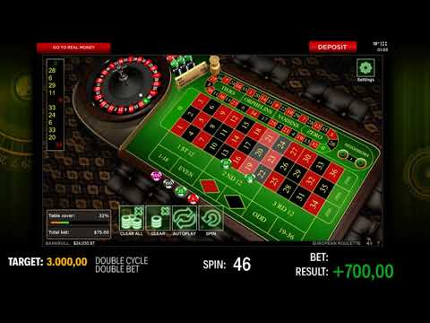 $2.100 win betting $25 chips in 888 Casino Roulette Online - Vídeo 63