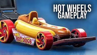 HOT WHEELS UNLEASHED - Gameplay com Carros Gourmet!
