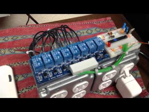 DIY homemade Christmas light controller