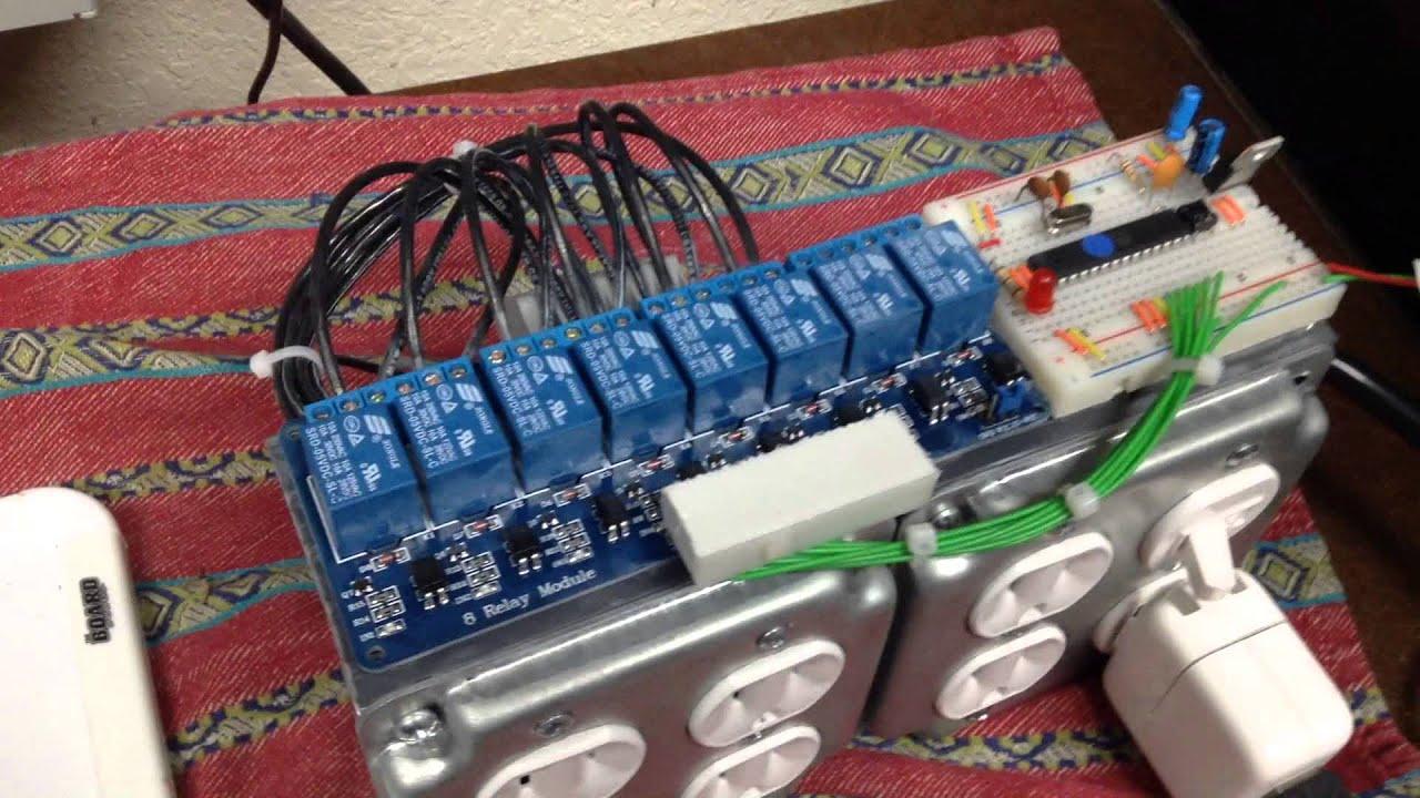 Diy Homemade Christmas Light Controller