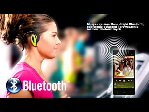 XX.Y H2O - wodoodporne słuchawki Bluetooth z wbudowanym odtwarzaczem mp3 8GB