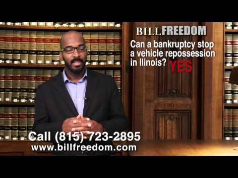 Can a bankruptcy stop vehicle repossession in the state of Illinois?