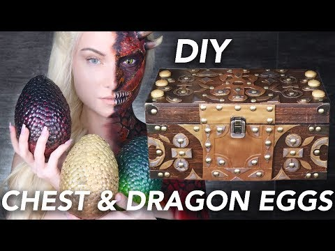 Making Daenerys Dragon Eggs & Chest | Game of Thrones