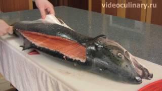 Разделка лососёвых рыб - Рецепт Бабушки Эммы