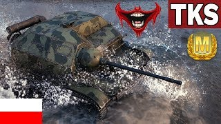 MOJA NAJLEPSZA BITWA NA TKS - World of Tanks
