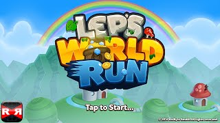 Lep's World Run (By nerByte GmbH) - iOS - iPhone/iPad/iPod Touch Gameplay