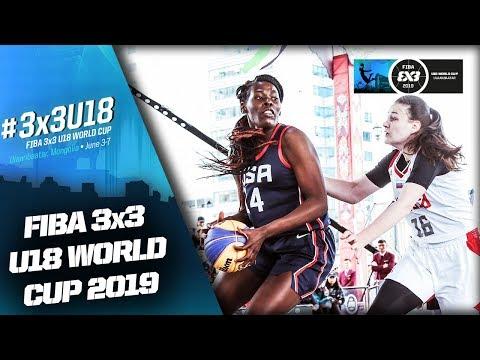 Russia V USA   Women's Full Game   FIBA 3x3 U18 World Cup 2019