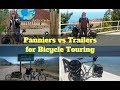 Panniers vs Trailers for Bicycle Touring - Are bicycle trailers or panniers better?