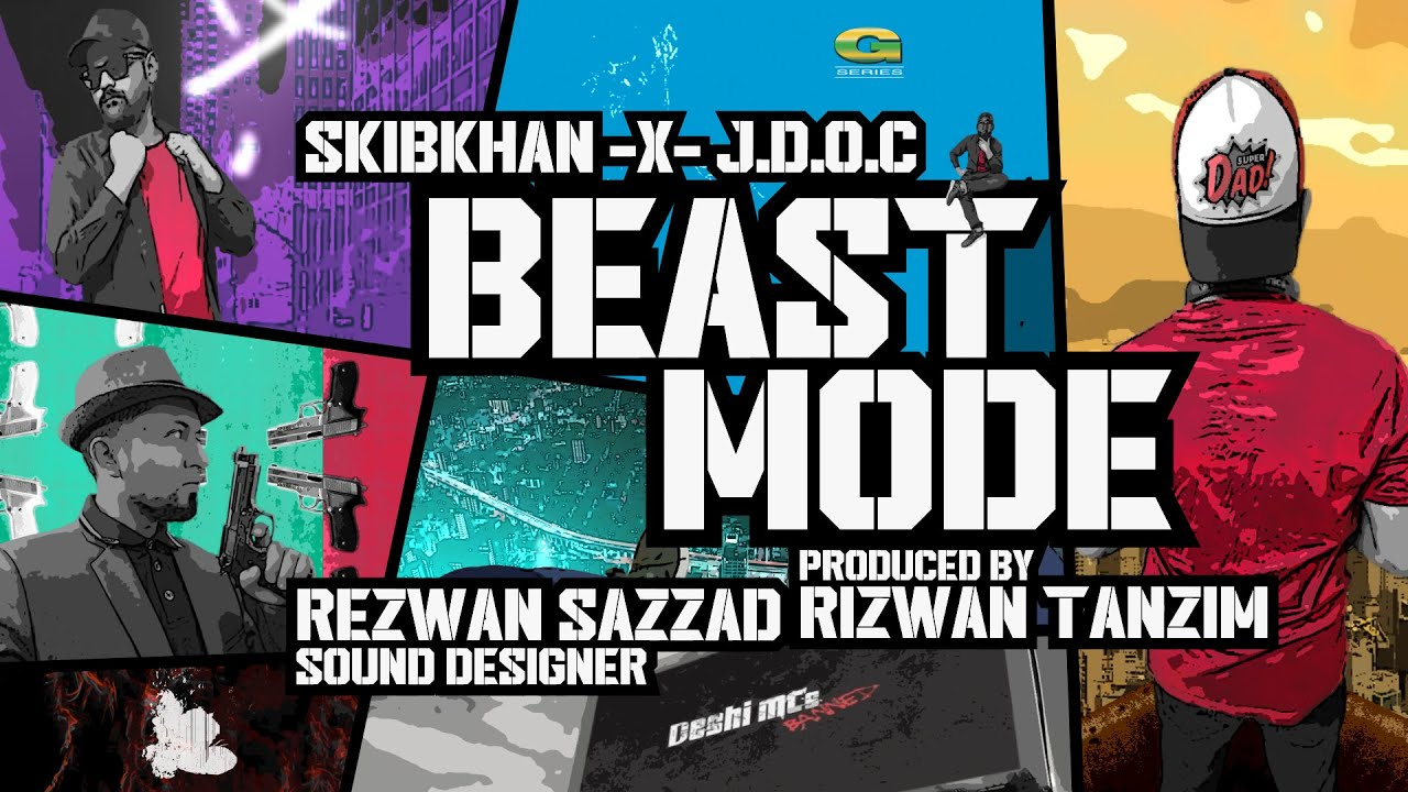 Beast Mode || Deshi MCs || J Doc And Skibkhan || Hip-Hop Eid New Song 2020 || @G Series Music