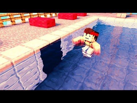 Der BESTE Minecraft Geheimgang in einem Pool!