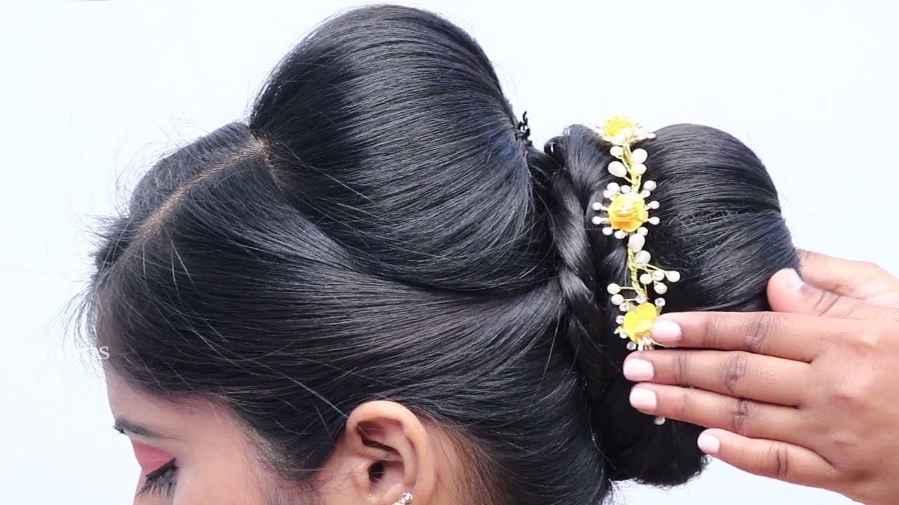Wedding Guest Bun Hairstyles Step By Step Tutorial