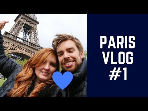 TRAVEL VLOG #13 - Paris Pt. 1 // Eiffel tower and Moulin Rougue!