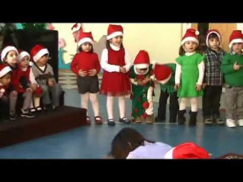 حفلة الميلاد2011 حضانة إميل حداد