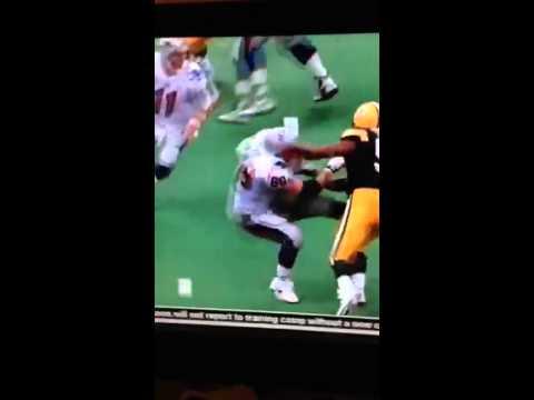 Football hit, Reggie White