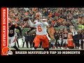 Top 10 Baker Mayfield Moments in 2018 | Cleveland Browns