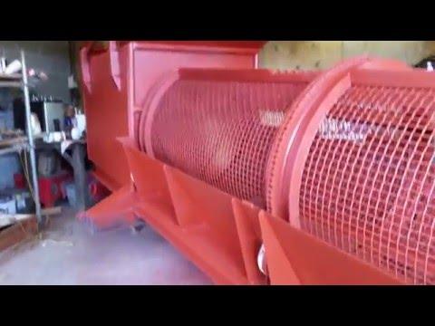 TROMMEL BUILD IN PRIMER SOIL WASTE SCREENER DIGGER GRAB SKIP LORRY CONCRETE CRUSHER JCB