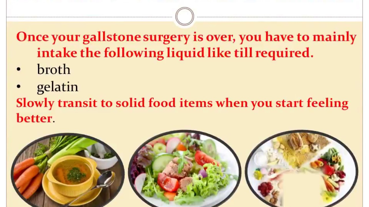 How to eat after removing the gallbladder 4