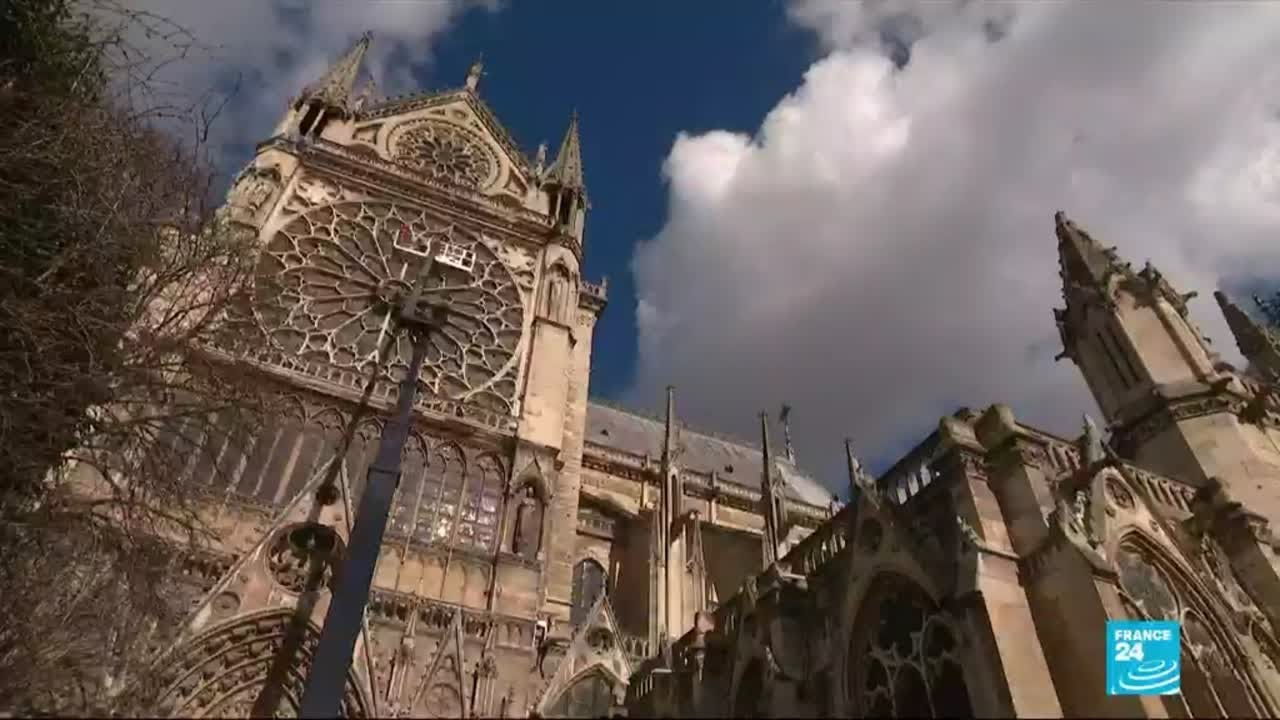 Notre Dame Cathedral In Fragile State Before Fire Youtube