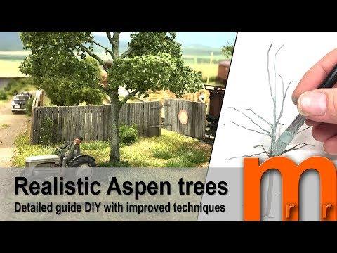 Model Realistic Aspen trees
