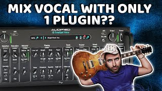 Mix Vocal track WITH ONLY 1 PLUGIN | ToneSpot Voice Pro by Audified