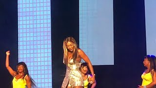 Tiwa Savage shows off her Zanku steps