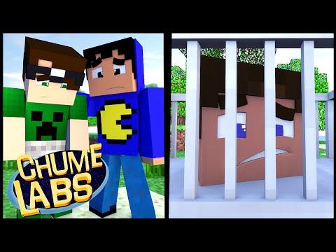 Minecraft: SEQUESTRO DO GUTIN! (Chume Labs 2 #38)