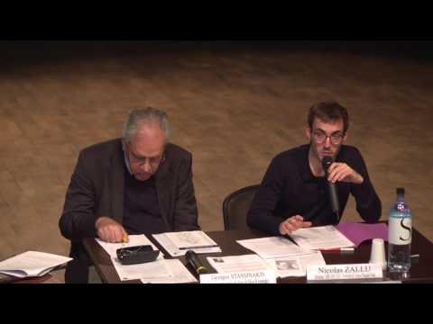 Rencontres autour de Nikos Kazantzakis - Georges Stassinakis et Nicolas Zallu