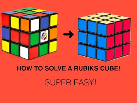 how to solve rubik s cube Learn how to solve rubik's cube in 6 easy steps and amaze your friends with your new skill.