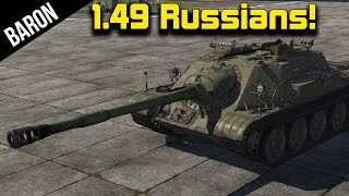 War Thunder 1.49 - Maus & T-95 Killer!  New Russian Tanks & Planes Patch 1.49
