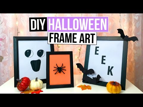 3 Easy DIY Halloween Wall Decor Ideas