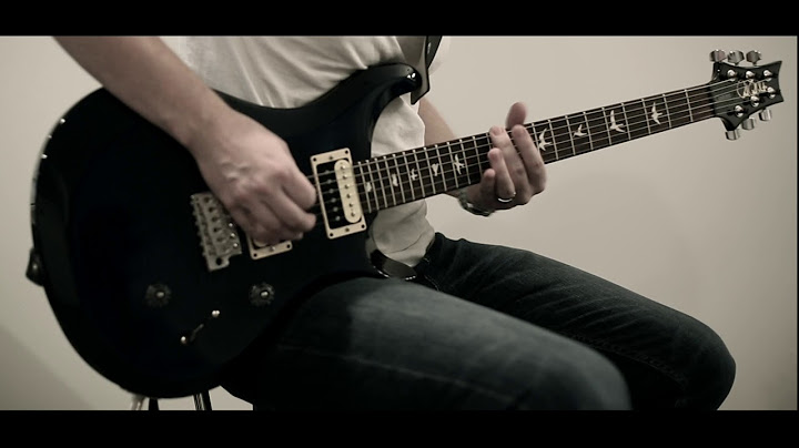i prevail  come and get it guitar cover